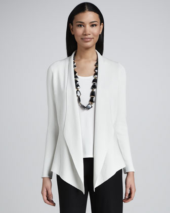 Silk-Cotton Interlock Jacket