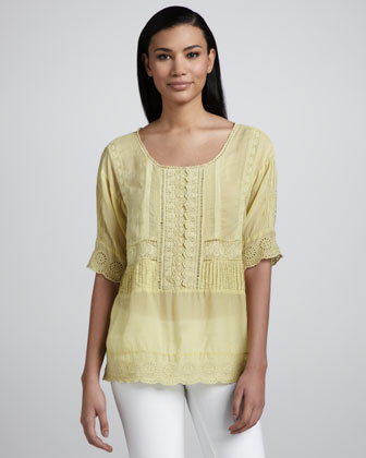 Buddie Embroidered Tunic