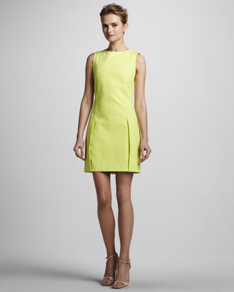 Halston Heritage Dress on Halston Heritage Sleeveless Sheath Dress Available In Lemonade   375