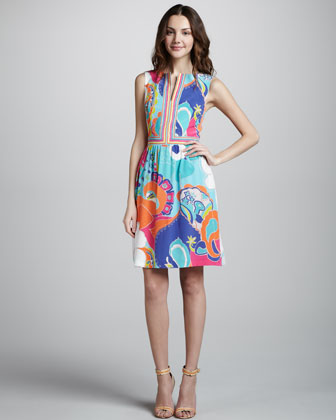 Sea Cove Shift Dress