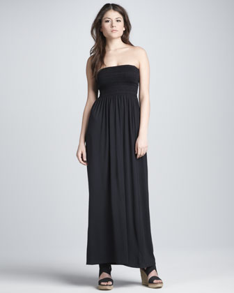 Women's Soft Joie Vanlet Strapless Smocked Maxi Dress