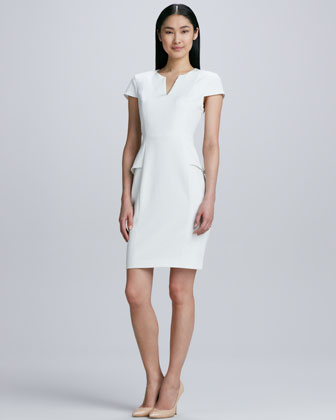Jasper Peplum Sheath Dress