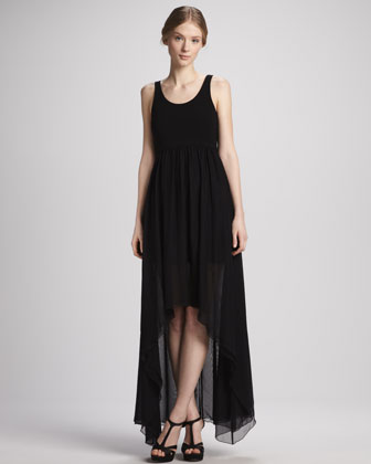 Liz Hi-Lo Maxi Dress