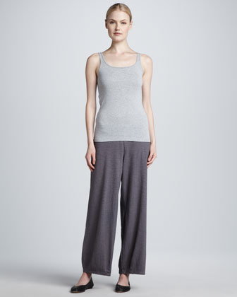 Organic Cotton Lantern Ankle Pants, Women's
