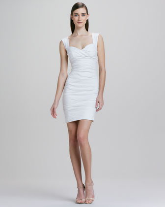 Sweetheart Neckline Cocktail Dress