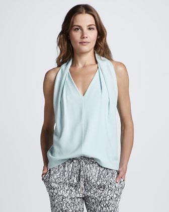 Reagan Sleeveless V-Neck Top