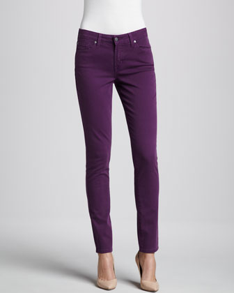 Cool Tone High-Rise Skinny Jeans