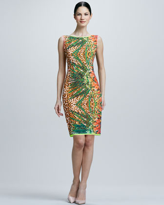 Claudia Printed Dress