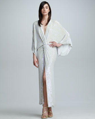 Jessi Allover Sequined Maxi Dress