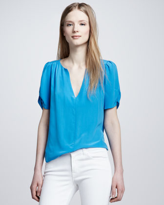 Women's Joie Amone Puff-Sleeve Top