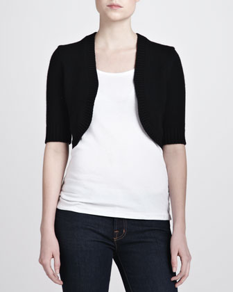 Cashmere Shrug, Black