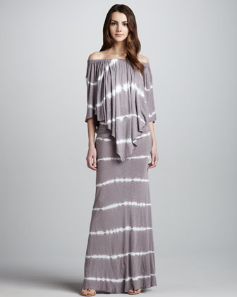 Fiona Tie-Dye Maxi Dress
