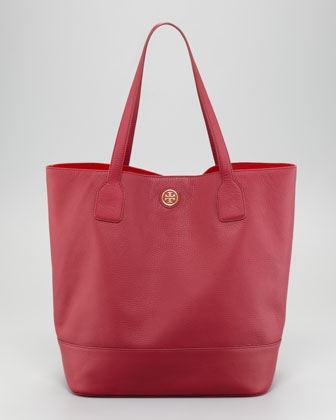 Michelle Leather Tote Bag