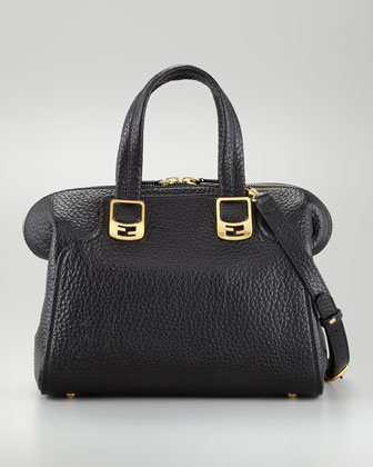 Chameleon Small Tote Bag, Black
