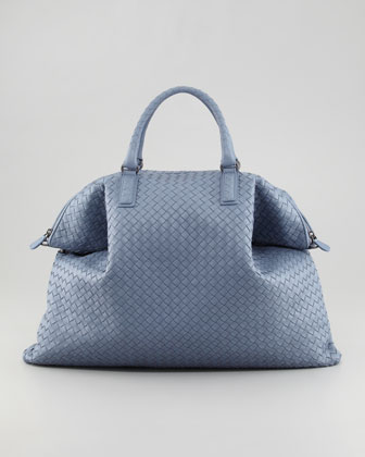Convertible Veneta Tote Bag, Blue