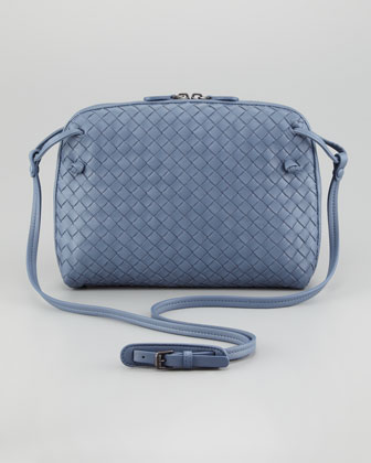 Veneta Small Crossbody Bag, Blue
