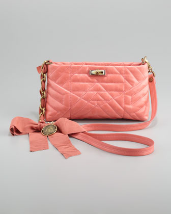Happy Pocket Shoulder Bag, Pink