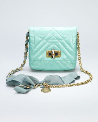 Happy Mini Pop Crossbody Bag, Light Green