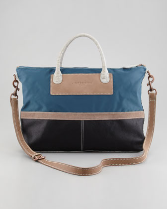 Colorway Multi-Material Tote Bag