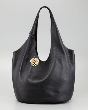 Wow Shrunken Leather Tote Bag