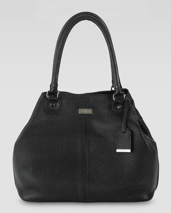Village Convertible Tote Bag, Black