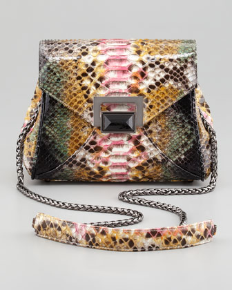 Itty Bitty Trinity Python Lady Bag, Multi