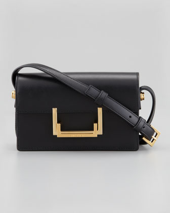 Small Lulu Shoulder Bag, Black