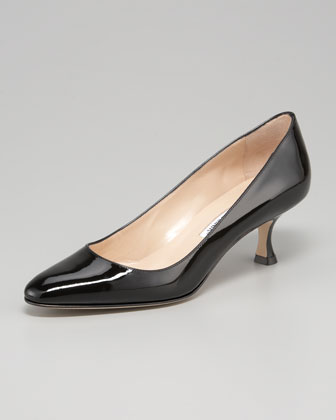 Sena Almond-Toe Pump