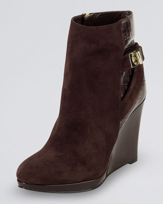Martina Suede Ankle Boot
