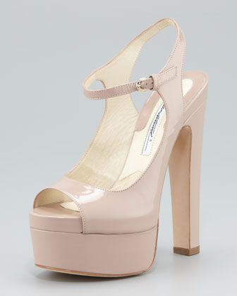 Anais Patent Leather Sandal