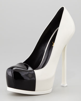Tribute Two Cap-Toe Spectator Pump