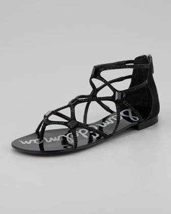 Tamara Sequined Strappy Sandal