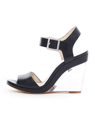 Lana Clear-Wedge Sandal