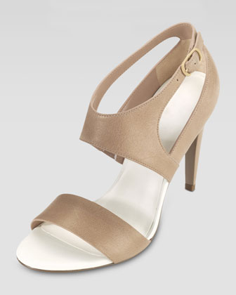Arlington Open Toe Pump Sandal, Sandstone