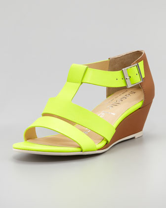 Absolute Wonder Wedge Sandal, Yellow