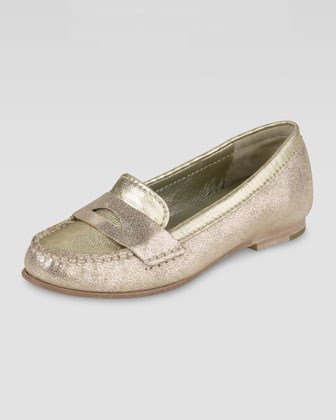 Air Sloane Metallic Moccasin