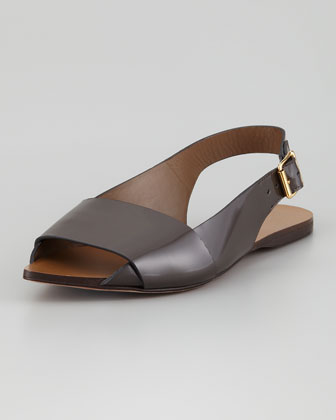 Pointed Toe Slingback Sandal