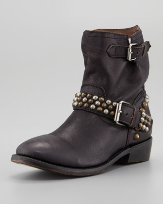 Leather Biker Boot Neiman Marcus Leather Motorcycle Boot