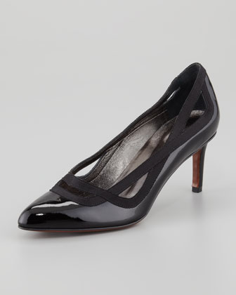 Patent Cutout-Collar Pump