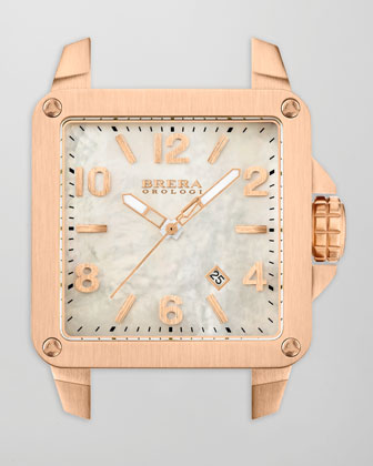 Stella Rose Gold IP Head with Mother-of-Pearl Dial