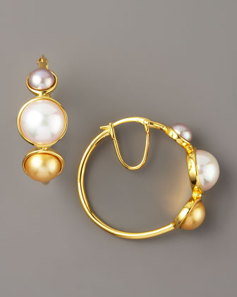 Skinny Hoop Earrings at ShopStyle - ShopStyle for Fashion and