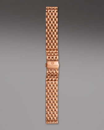 18mm Caber Bracelet Strap, Rose