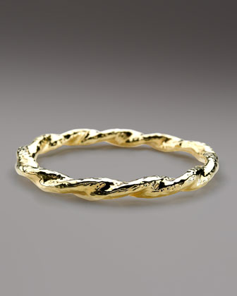 Glamazon Twisted Bangle