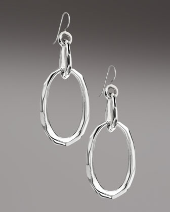 Glamazon Double-Oval Earrings