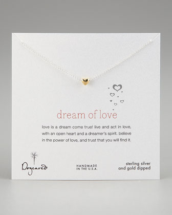 Dream of Love Pendant Necklace