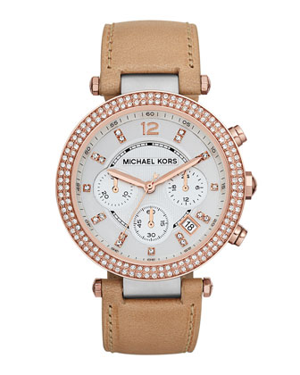 Parker Glitz Watch, Rose Golden