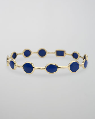 Rock Candy Bangle, Lapis