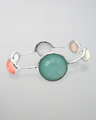 Wonderland Lollipop Five-Station Bangle, Breeze
