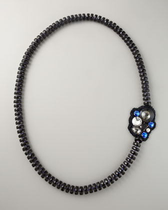 Faceted Bead Necklace, 60