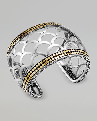 Naga Mixed-Metal Cuff, Wide